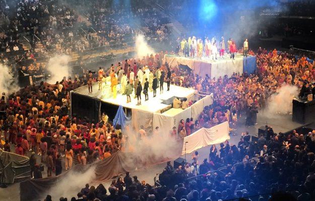Kanye West - Yeezy Season 3 Fashion Show - Madison Square Garden NYC